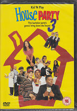 House Party 3 - Kid 'N Play New & Sealed UK R2 DVD
