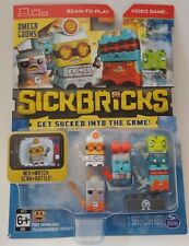 Omega Goons Sick Bricks Scan to Play Video Game Sludge Hammer Pyro Techie & More