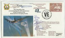 More details for gb 1985 raf escaping society cover caterpillar club signed rafesc36 jk18