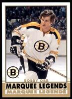 2020-21 UD O-Pee-Chee Retro Marquee Legends #548 Bobby Orr - Boston Bruins