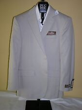 $695 New Jos A Bank tropical blend solid Sand suit 38 L 32 W tailored fit