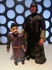 """Doctor Who Magnus Greel & señor pecado los dientes de Weng Chiang 5"""" Figuras Clásico"""