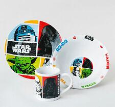 Star Wars Jedi Joda  Frühstücksset mit Tasse, Schüssel und Teller