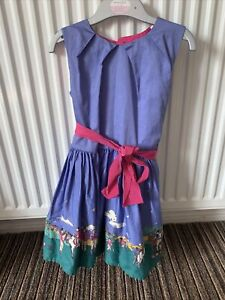 Girls Joules Dress Age 4