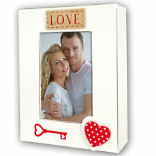 Wooden Hearts & Love Photo Holders
