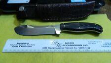 Boker Arbolito T6Mov Stainless Hunter Skinner Knife Leather Sheath Argentina
