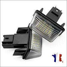 2 LED Éclairage Lumière Plaque immatriculation Pour Citroen Berlingo 6340.A3