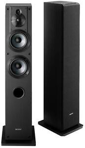 Sony SS-CS3 Floor-Standing Tower 3-way Speaker - Black