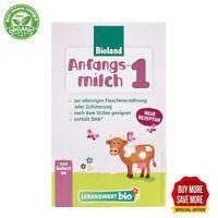 Lebenswert Stage 1 Organic Infant Milk Formula +DHA(500g) 1, 3, 6 box
