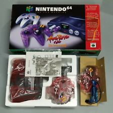 Nintendo 64 System N64 Console Brand New in Box w/Atomic Purple Controller NTSC
