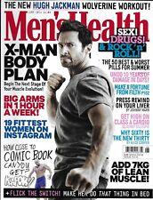 Mens Health magazine Hugh Jackman Fittest women on Instagram Workouts Fitness