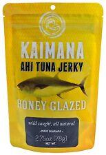 Kaimana Honey Glazed AHI TUNA JERKY 2.75oz Beef Jerky Fish Jerky Exotic Hawaii