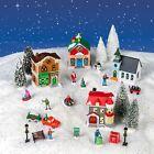 Cobblestone Corners Christmas Village NEW 2021 - Complete Set - Santa, Snowman++