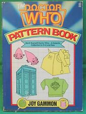 The [Wonderful!] Doctor Who Pattern Book.  GC+ pb. Knit your own Yeti!  FAB!!!