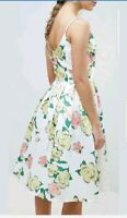 CHI CHI LONDON FLORAL OCCASION WEDDING DRESS SIZE UK 14