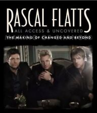 RASCAL FLATTS - ALL ACCESS & UNCOVER The Making Of Changed And Beyond - DVD NEW