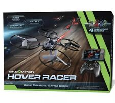 New in Box Sky Viper Hover Racer - AUTO Launch, Land, Black Edition MSRP $99