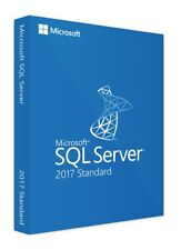 Microsoft SQL Server 2017 Standard Licence Key - Fast Delivery