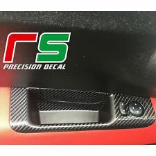 fiat 500 595 695 abarth ADESIVI maniglia portiere sticker decal carbon look