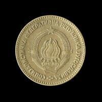 YUGOSLAVIA 20 DINARA COIN 1963 - EXCELLENT Cond aUNC