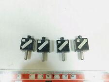 bk437-0,5 #4x Märklin voie 0 blech-laternenimitat pour droits aiguillage