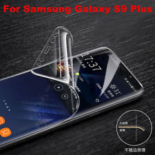 For Samsung Galaxy S9 Plus 2PCS Full Coverage Clear TPU Screen Protector Film