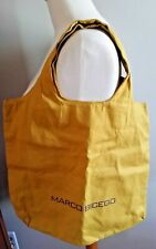NEW WITHOUT TAGS! MARCO BICEGO Cotton Canvas Tote Bag-Gold