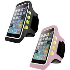Iphone 6/6s Led Luz Intermitente Deportes Gimnasio Brazalete Running Funda Jogging cubierta