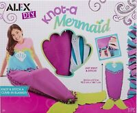 Alex DIY Knot A Mermaid Climb In Blanket Kit! Age 8+ Years Free UK Postage!