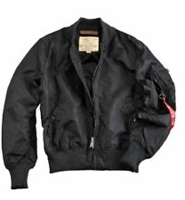 Alpha Industries Ma-1 TT Bomber Jacket in Various Colours L Black