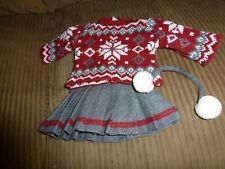 """18"""" doll clothes-cozy red"""