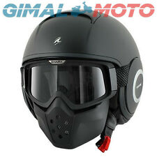 CASCO SHARK DRAK  BLACK MATT TG.S HE2912EKMAS