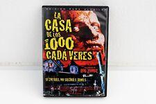 LA CASA DE LOS 1000 CADÁVERES - ROB ZOMBIE - DVD EDICIÓN ALQUILER
