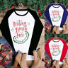Women Casual Letter Patchwork Long Sleeve Patchwork Pullover Loose Tshirt Blouse
