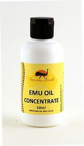 Concentrated Essence Pure Australian Emu Oil Pain Relief Anti Inflammatory 100ml