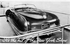 Old Photo.  1941 Chrysler Thunderbolt at NY Car Show