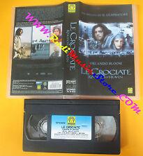 VHS film LE CROCIATE Kingdom of heaven Orlando Bloom MEDUSA (F59) no dvd