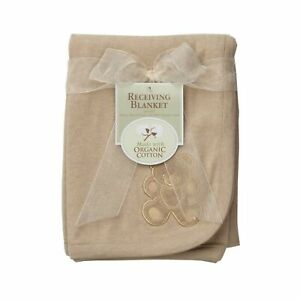 American Baby Company 30 X 40 Embroidered Swaddle Blanket Made with Organic C...
