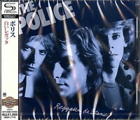 THE POLICE-REGATTA DE BLANC-JAPAN SHM-CD D50