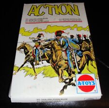 VINTAGE A-TOYS ACTION 1815 BRITISH LIGHT CAVALRY