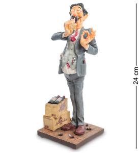 Guillermo Forchino Wine Taster Collectible Figure Original  FO-84007
