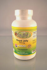 Royal Jelly 500mg - 100 soft gels, energy, superfood, anti-aging. Made in USA.