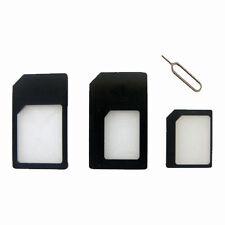SIM ADATTATORE CONVERTITORE & SIM pin Estrattore Converti da Nano a Micro a Standard