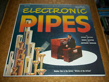 Electronic Pipes ~ Eddie Baxter At The Artisan Organ Rare LP Rendezvous Records
