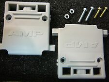 AMP 206472-1 Connector Backshell DB25 Gray Plastic **NEW** Qty.1