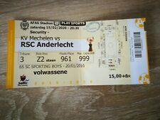 Ticket : KV Mechelen - RSC Anderlecht 15.02.2020