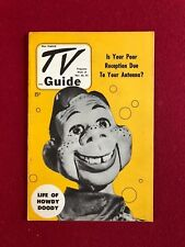 """1951, Howdy Doody, """"TV Guide"""" (No Label on Front) Scarce (Great Color!!)"""