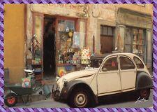 Carte Postale  COTIGNAC, Quincaillerie Paulette, 2 CV