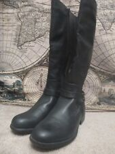 Womens Life Stride Boots Black Tall Knee High size 7.5M 7.5 M