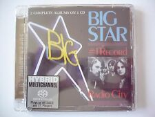 SACD Big Star - #1 record/ radio city  FACTORY SEALED Hybride disc